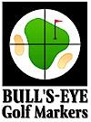 Bull's Eye Golf Markers